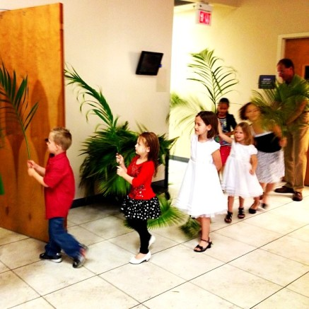 Palm Sunday 2013 Processional